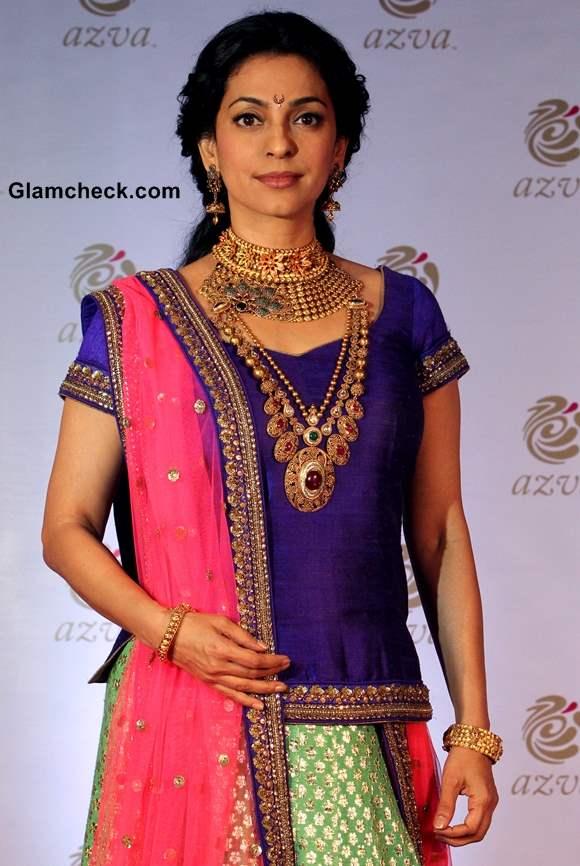 Juhi Chawla Launches Azva Bridal Jewellery in Pune