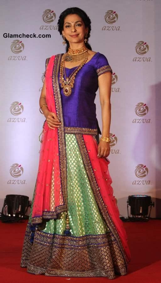 Juhi Chawla Launches Azva Bridal Jewellery