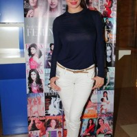 Kainaat Arora Stylish Casul Look at Femina Festive Showcase 2013