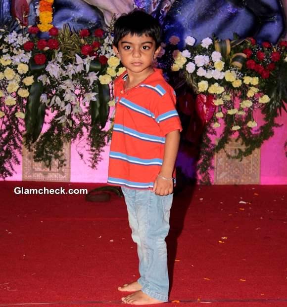 Kajol and Ajay Devgan son Yug Pictures