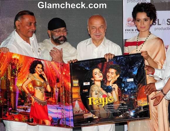 Kangana Ranaut Rajjo Music Launch 2013 Pictures
