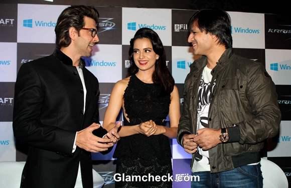 Kangana Ranaut Vivek Oberoi  and Hritik Roshan attended a Halloween Party