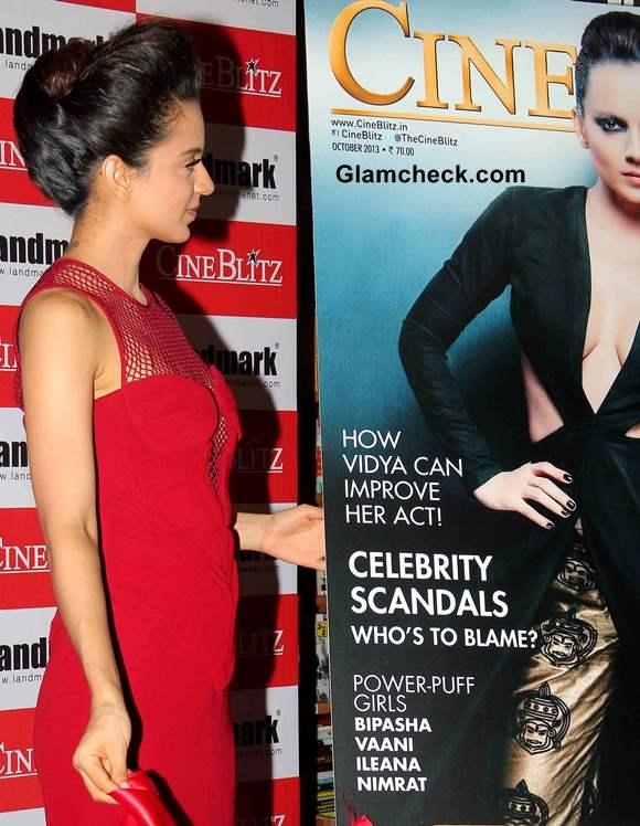 Kangana Ranaut at Cine Blitx Magazine Unveiling
