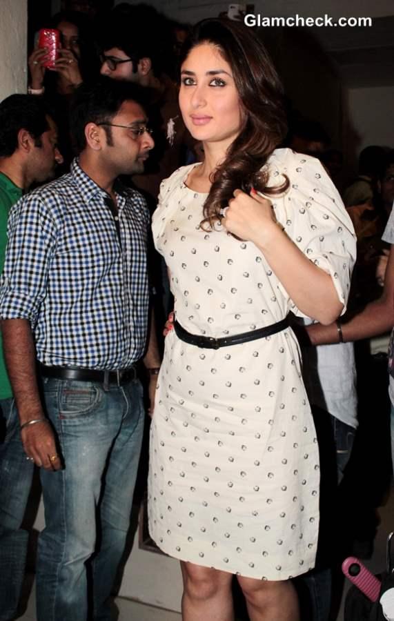 Kareena Kapoor in Dress Promotes Gori Tere Pyaar Mein