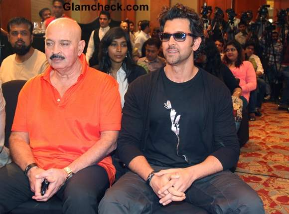 Krrish 3 Merchandise Launched by Hrithik and Rakesh Roshan
