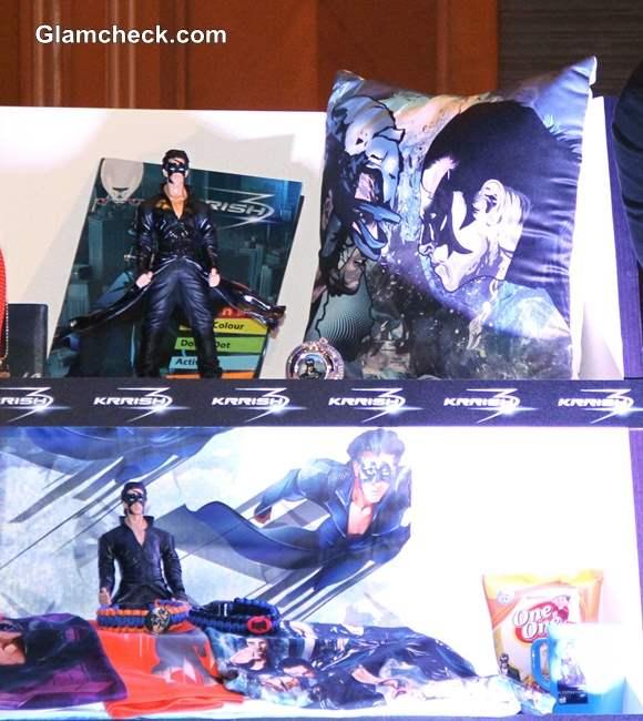 Krrish 3 Merchandise products