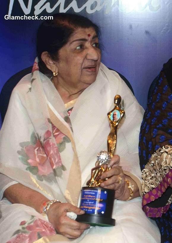 Lata Mangeshkar Receives First Yash Chopra Memorial Award