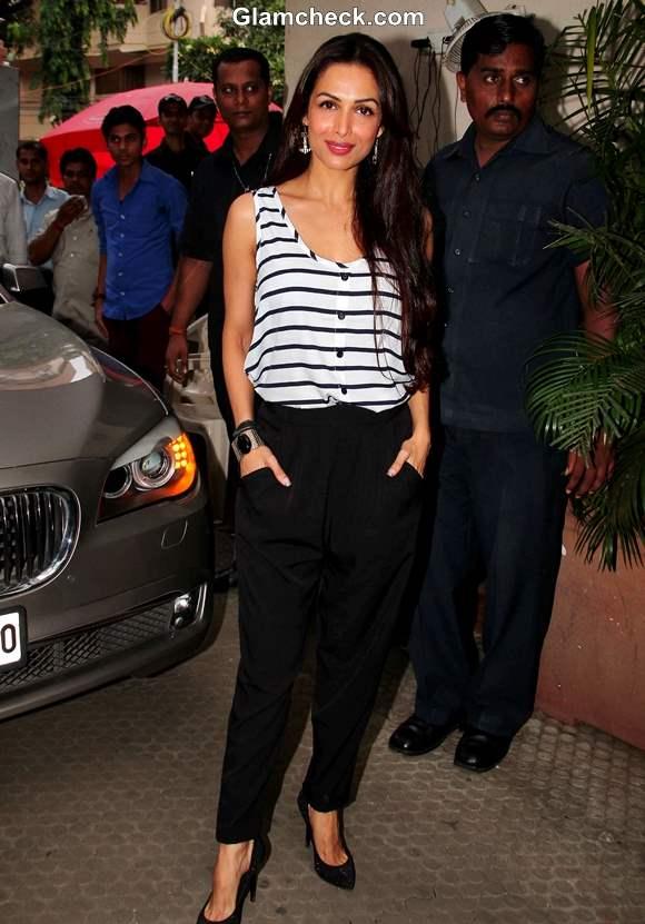 Malaika Arora Casual look for Spa Launch 2013
