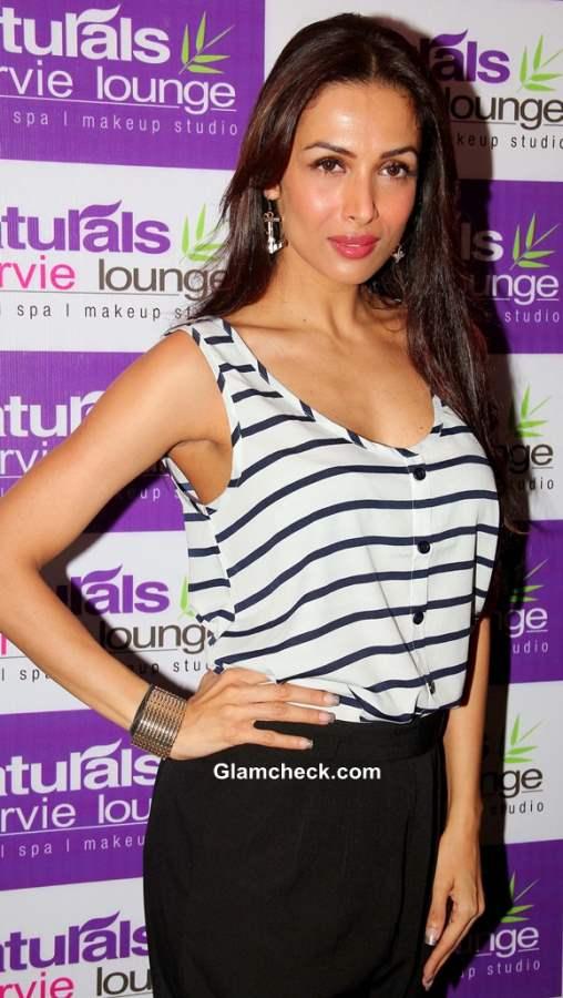 Malaika Arora Khan Goes Resort Casual for Spa Launch