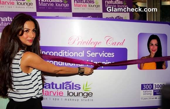 Malaika Arora Khan at Spa Launch 2013