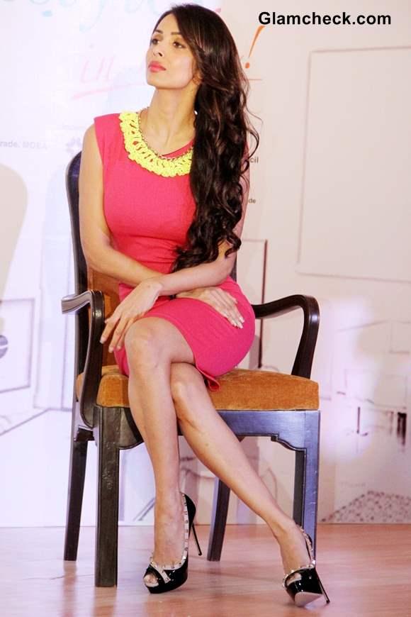 Malaika Arora Khan in Pink Sheath Dress at Taiwan Excellence Campaign 2013