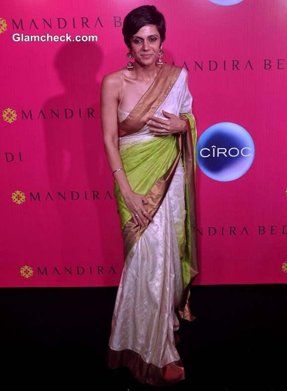 Mandira Bedi at Her Signature Store Launch in Mumbai