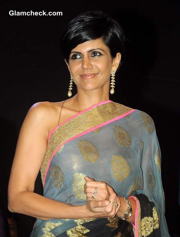 Mandira Bedi at Positive Health Awards 2013