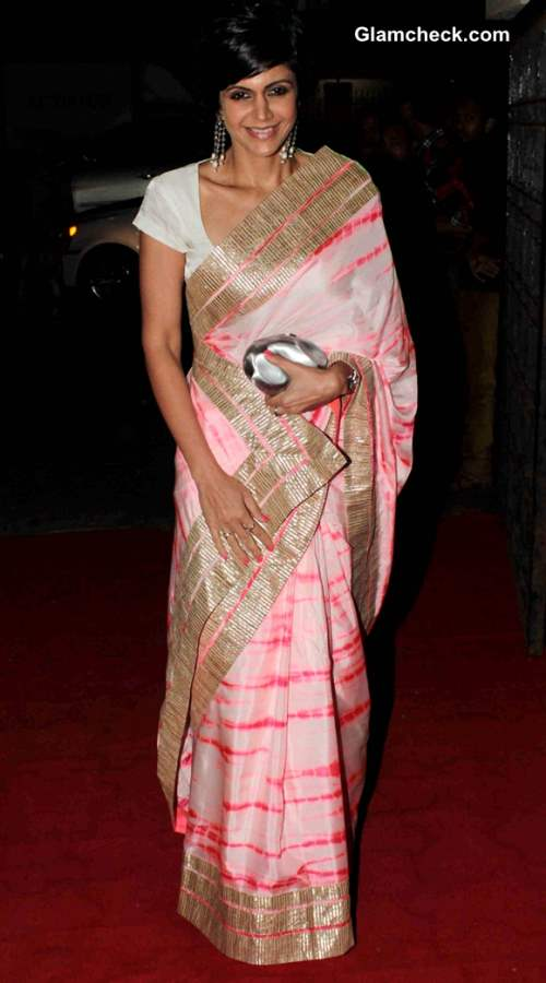 Mandira Bedi at Raveena and Roopa Jewellery Line Launch