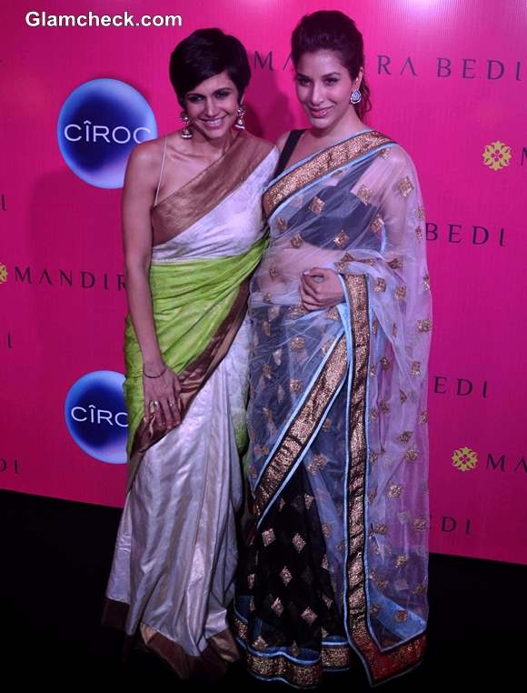 Mandira Bedi with Sophie Chaudhary at her Signature Store Launch