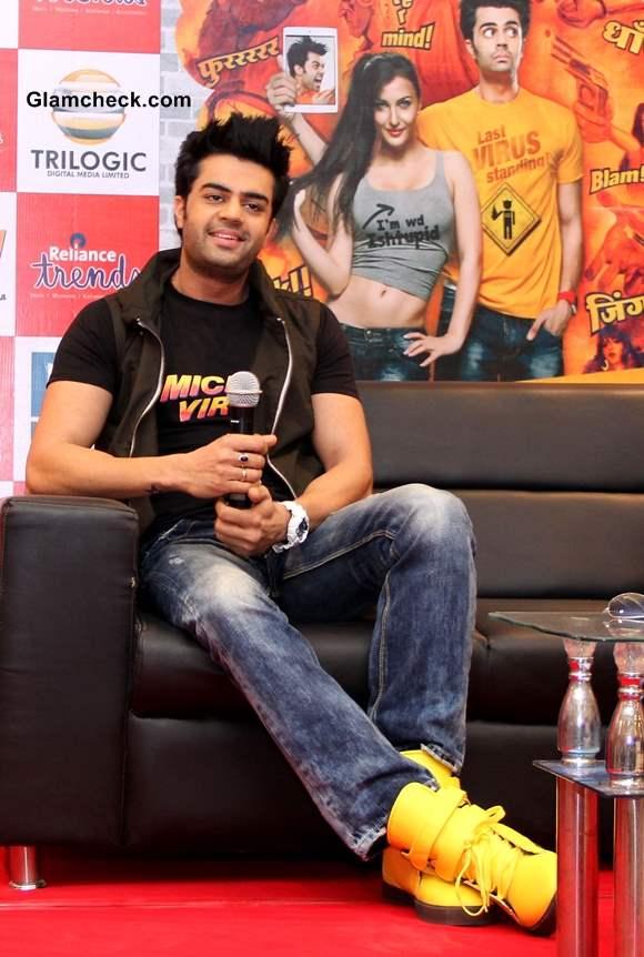 Manish Paul Promotes Mickey Virus in Ahmedabad