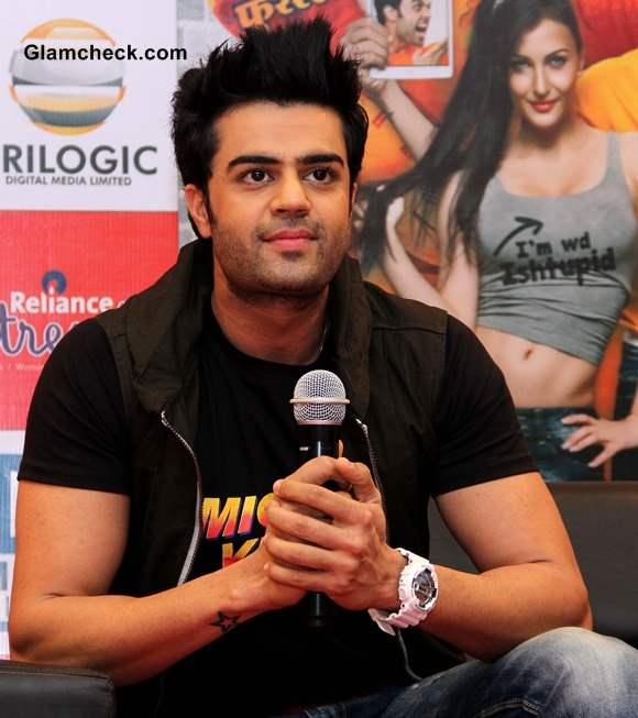 Manish Paul Promotes movie Mickey Virus in Ahmedabad