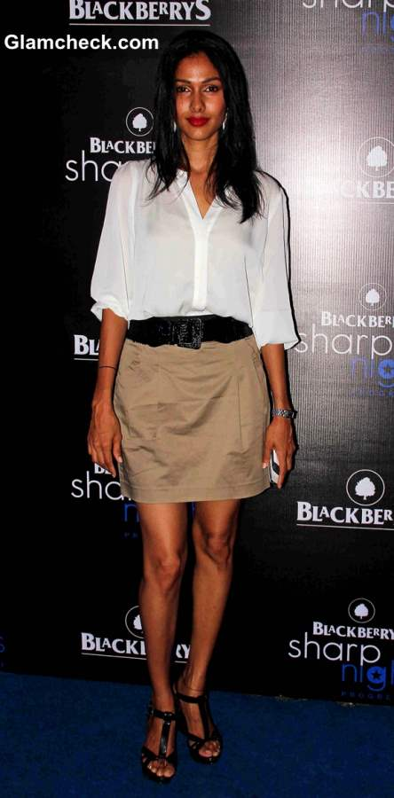 Model Netra Raghuraman at Blackberry Sharp Night