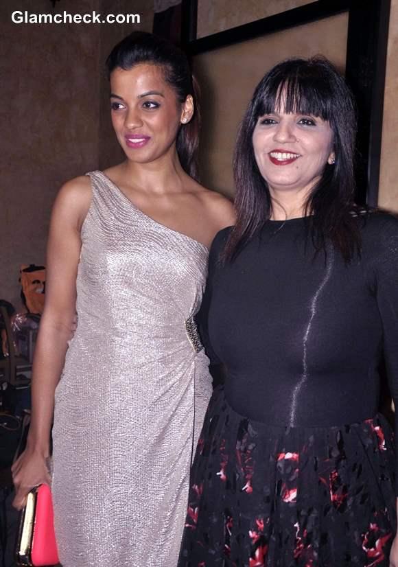 Mugdha Godse and Fashion designer Neeta Lulla