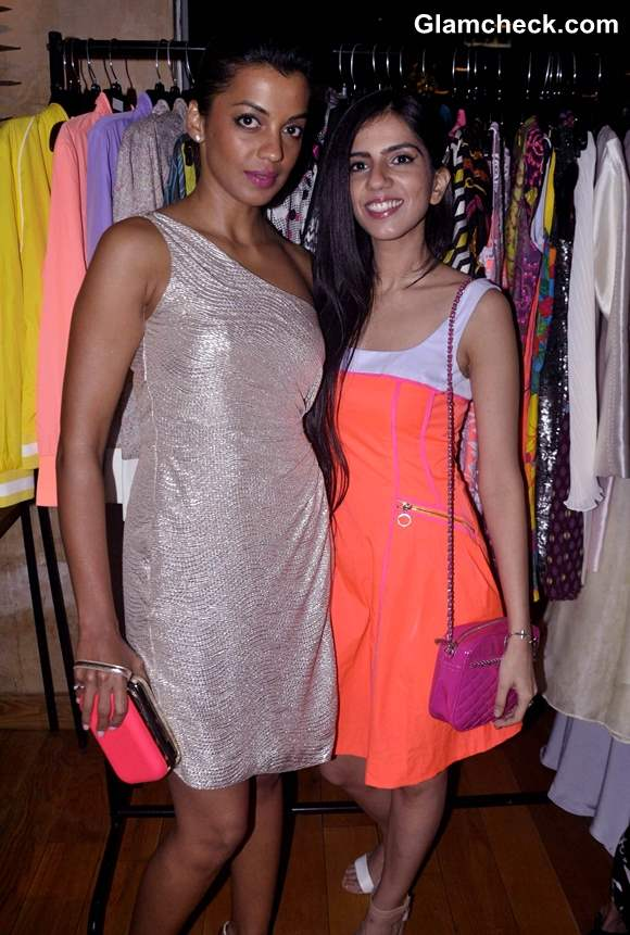 Mugdha Godse and Fashion designer Nishka Lulla