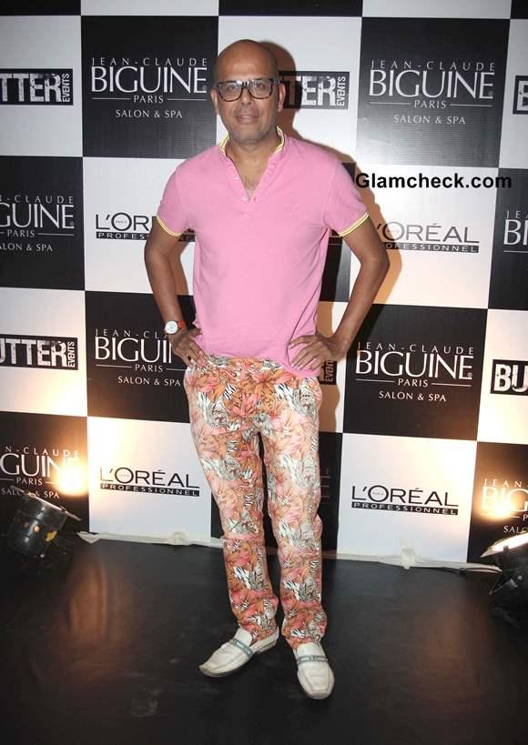 Narendra Kumar at Jean-Claude Biguine Salon Anniversary