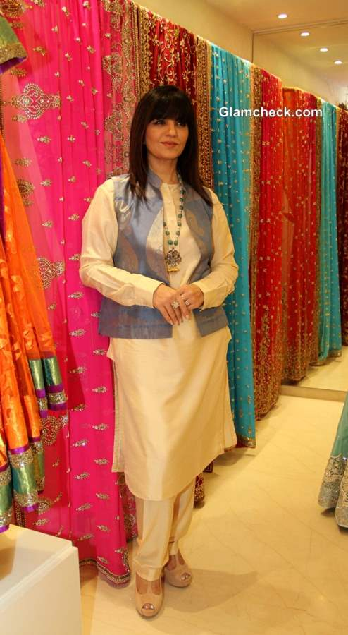 Neeta Lulla during the preview of 2013 bridal collection at her store