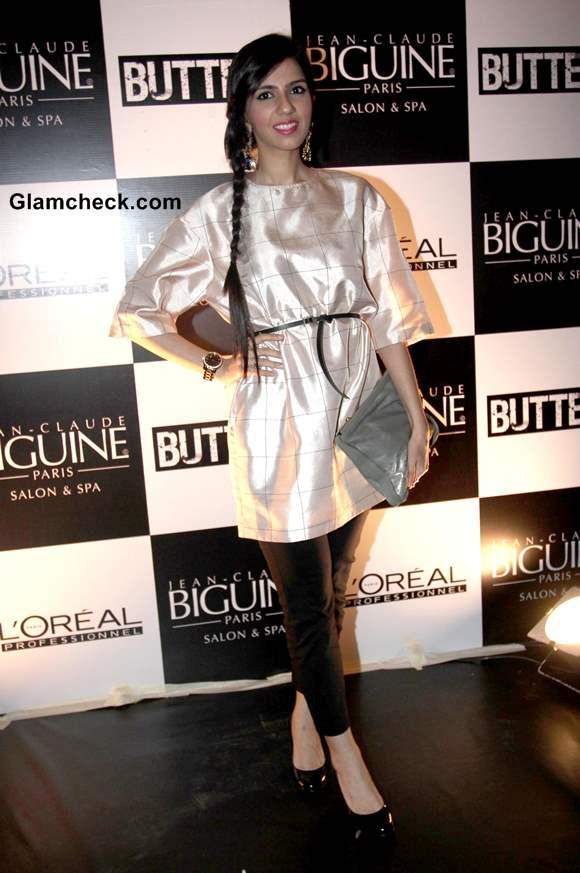 Nishka Lulla at Jean-Claude Biguine Salon Anniversary
