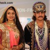 Paridhi Sharma and Rajat Tokas in Jodha Akbar