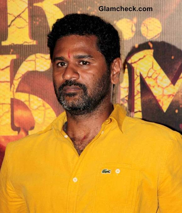 Prabhudeva at R Rajkumar Trailer Launch
