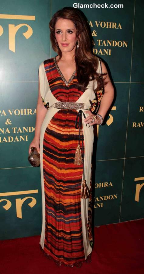 Pria Kataria Puri at Raveena and Roopa Jewellery Line Launch