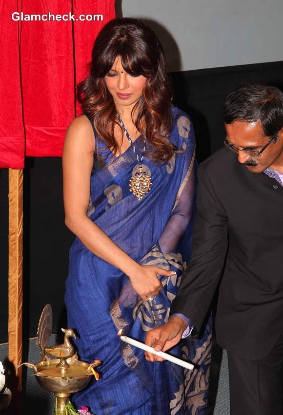 Priyanka Chopra 2013 pictures in sari