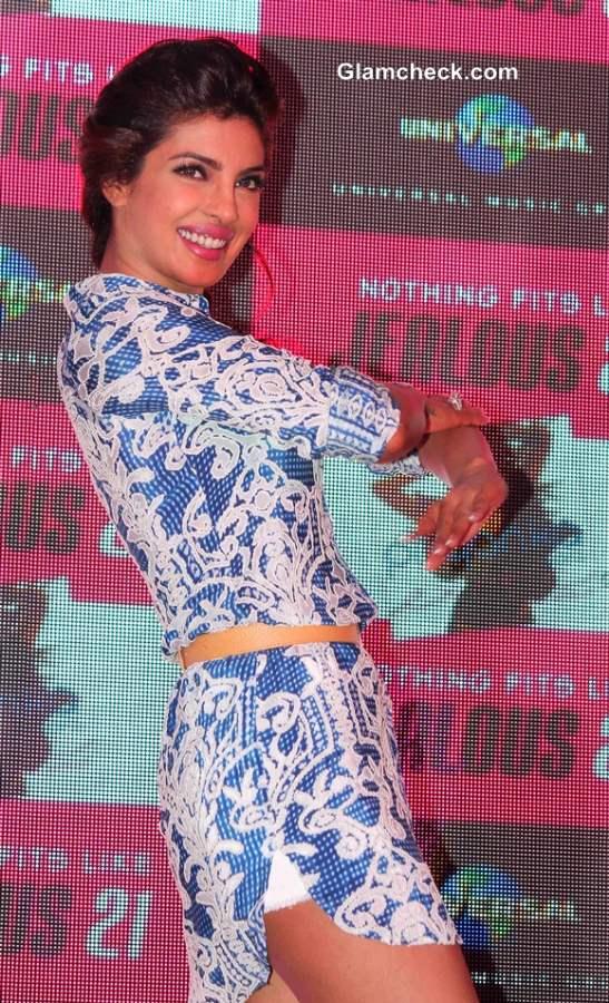 Priyanka Chopra Rocks White Hot Pants at Exotic Celebration