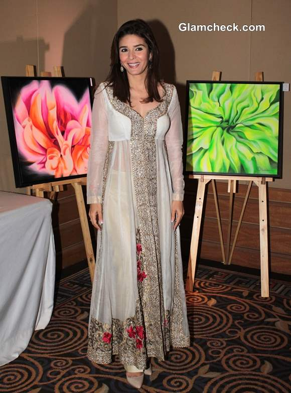 Raageshwari Loomba at Art Couture Exhibition in Mumbai