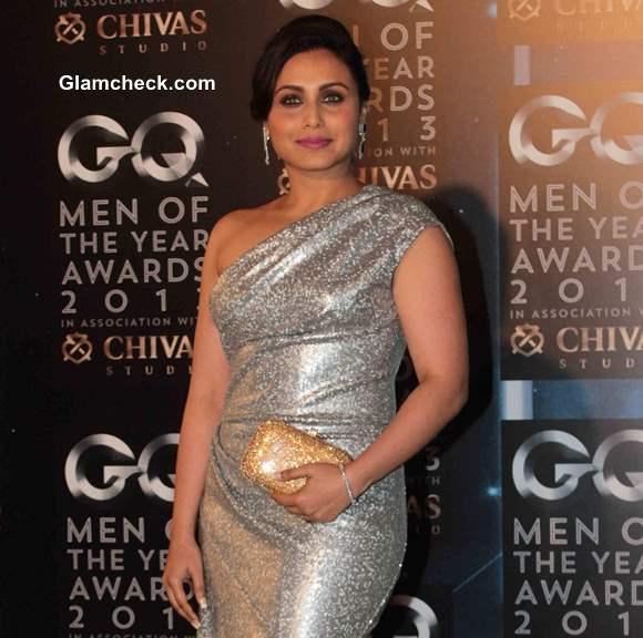 Rani Mukherjee 2013 Silver Gown GQ Man of the year Awards 2013
