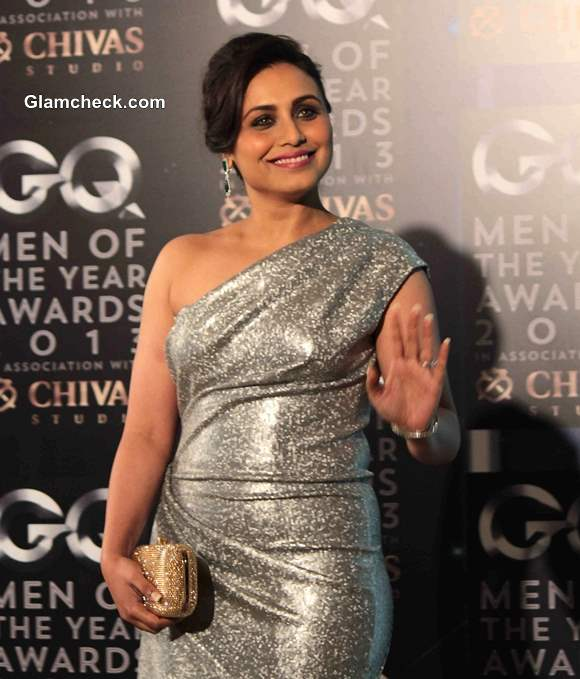 Rani Mukherjee in Silver Gown GQ Man of the year Awards 2013 Pictures