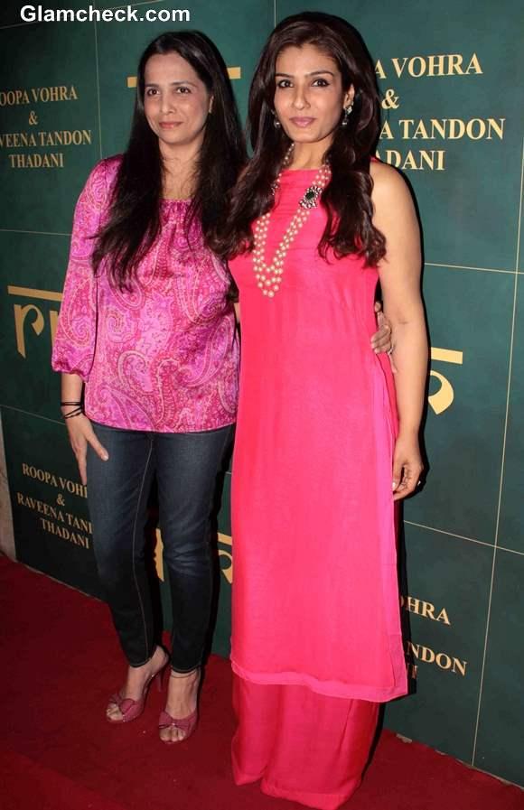 Raveena Tandon and Roopa Vohra Launch Jewellery Line
