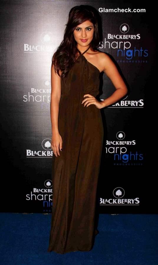 Rhea Chakraborty at Blackberry Sharp Night