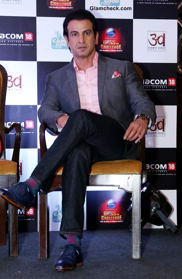 Ronit Roy at  Boss Promotions in New Delhi