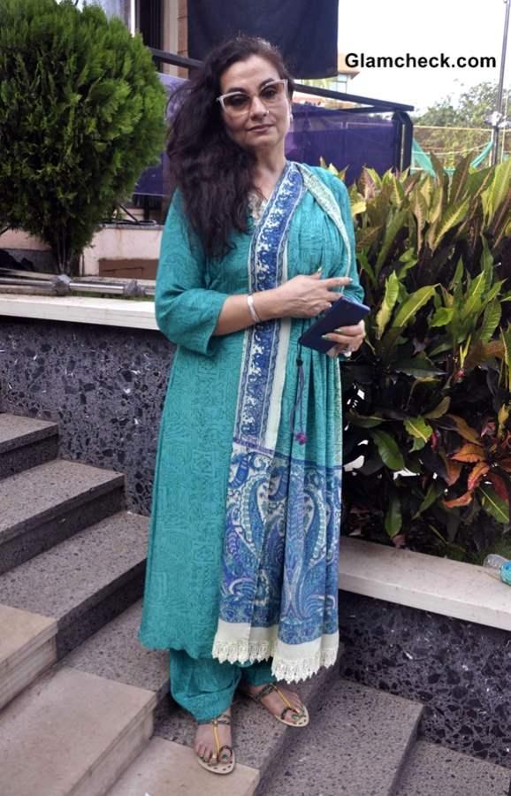Salma Agha at Desi Kattey Muhurat Shot in Mumbai