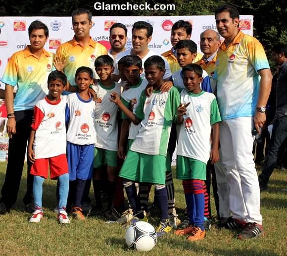 Salman Khan Commemorates Junior Soccer Challenger
