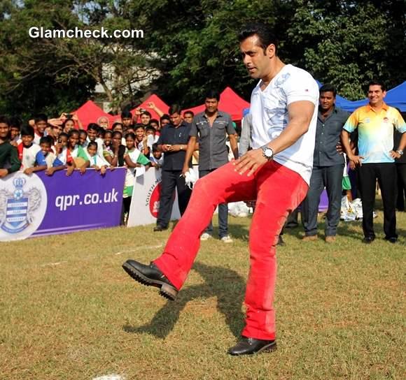 Salman Khan Junior Soccer Challenger