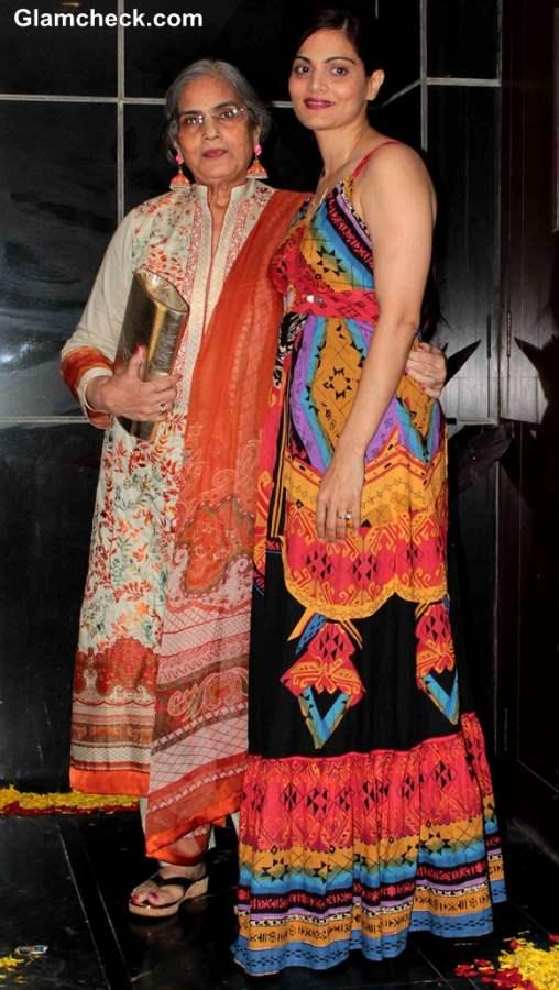 Salman Khan mother Sushila Charak and sister Alvira Khan