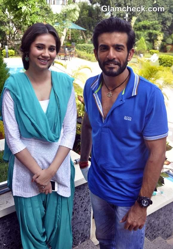 Sasha Agha and Jay Bhanushali at Desi Kattey Muhurat Shot in Mumbai