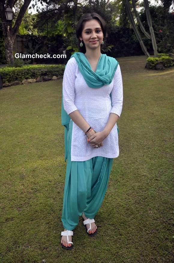 Sasha Agha at Desi Kattey Muhurat Shot in Mumbai