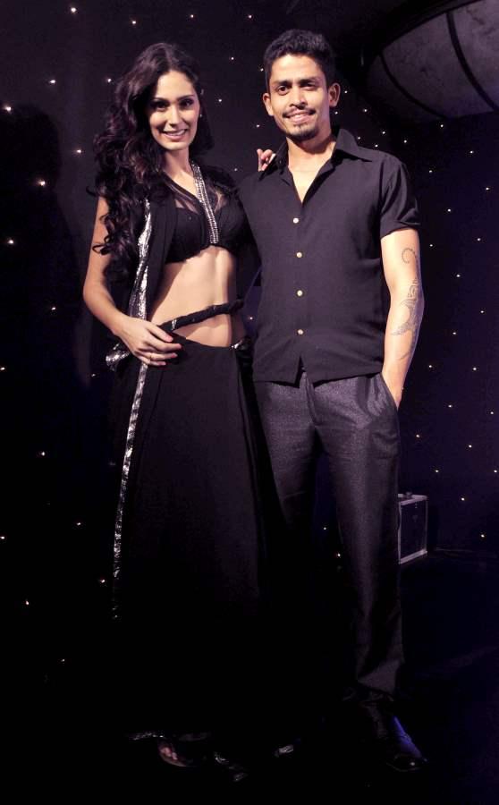 Season 6 Nach Baliye Contestant Bruna Abdullah with boyfriend Omar Farooque