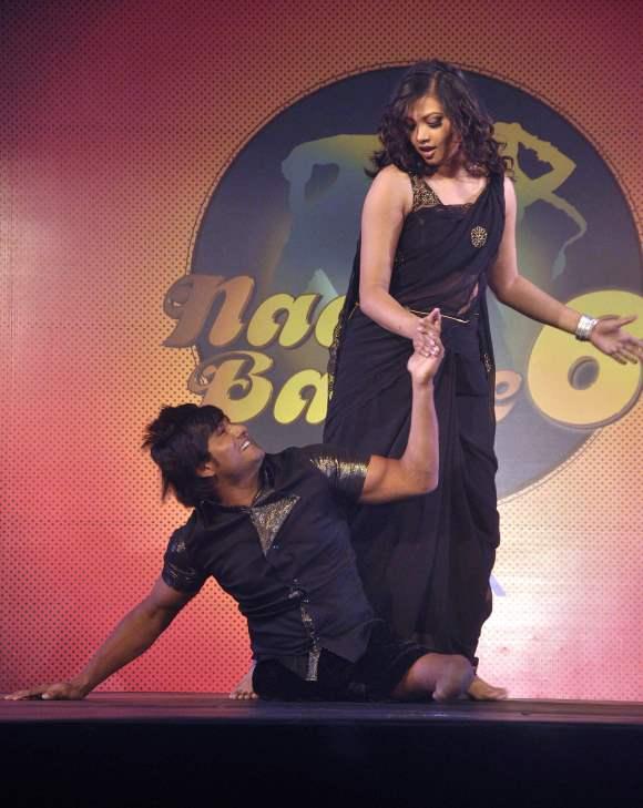Season 6  Nach Baliye Contestant Dancer Vinod Thakur and his wife Raksha Thakur