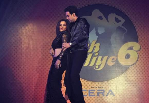 Season 6  Nach Baliye Contestant Kanika Maheshwari with husband Ankur Ghai