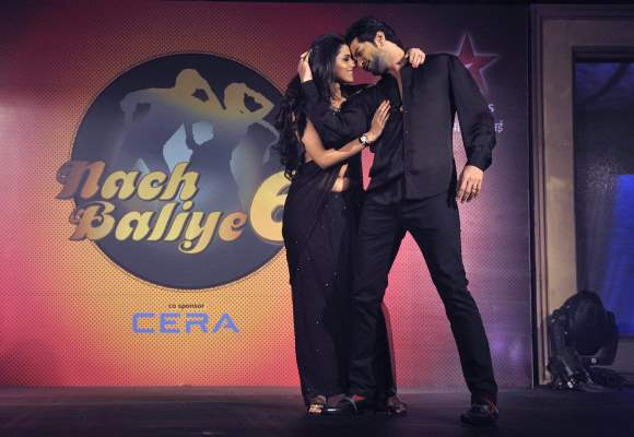 Season 6  Nach Baliye Contestant Raqesh Vashisth with wife Ridhi Dogra