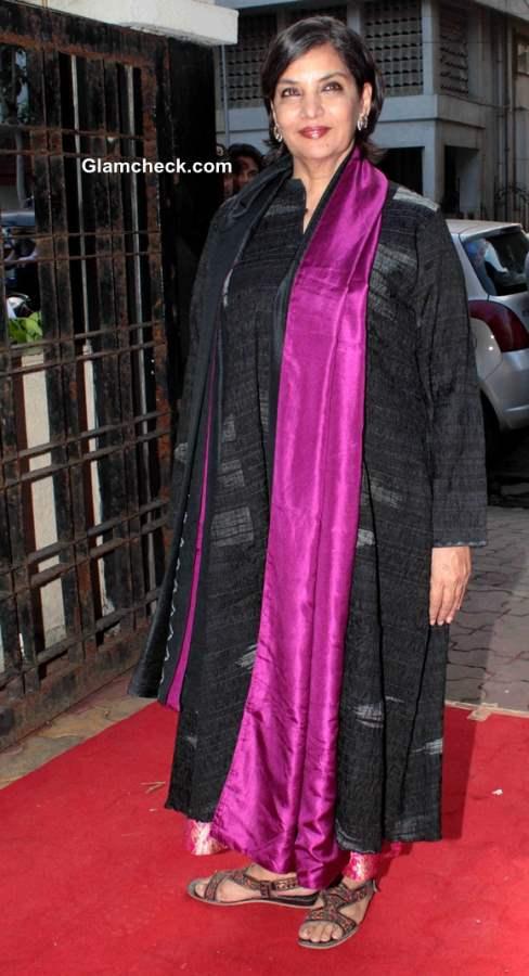 Shabana Azmi at Raveena and Roopa Jewellery Line Launch