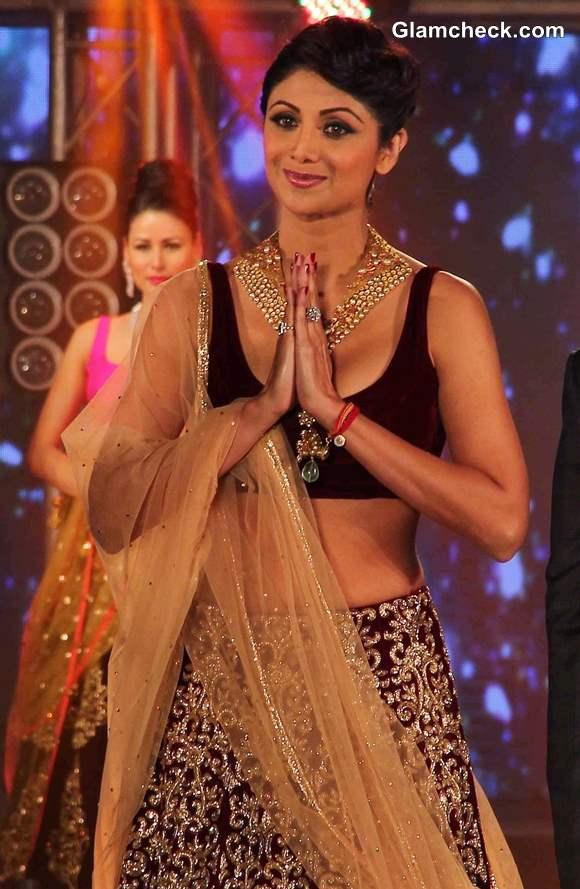 Shilpa Shetty at 2013 IBBS Fashion Show